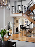 Philadelphia Brownstone Condo Conversion Interior View IV