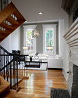 Philadelphia Brownstone Condo Conversion Interior View V